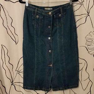 *HOST PICK* - Acne Denim Skirt